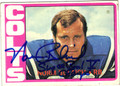 NORM BULAICH BALTIMORE COLTS AUTOGRAPHED VINTAGE FOOTBALL CARD #91213F