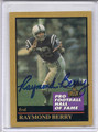 Raymond Berry Autographed Football Card #91410E