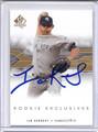 Ian Kennedy Autographed Baseball Card #91410F