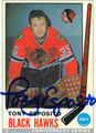 TONY ESPOSITO AUTOGRAPHED HOCKEY CARD #91312C