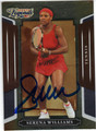 SERENA WILLIAMS AUTOGRAPHED TENNIS CARD #91313C