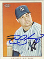 NICK SWISHER AUTOGRAPHED BASEBALL CARD #91412F