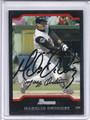 Maglio Ordonez Autographed Baseball Card #91410A