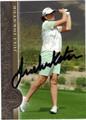 JULI INKSTER AUTOGRAPHED GOLF CARD #91412M