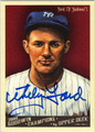 WHITEY FORD AUTOGRAPHED BASEBALL CARD #91711i