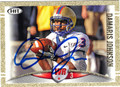 DAMARIS JOHNSON AUTOGRAPHED ROOKIE FOOTBALL CARD #91712B