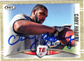 CORY HARKEY AUTOGRAPHED ROOKIE FOOTBALL CARD #91712C