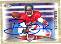 BRIAN QUICK AUTOGRAPHED ROOKIE FOOTBALL CARD #91912E