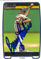 BRENNY PAULINO AUTOGRAPHED ROOKIE BASEBALL CARD #91912K