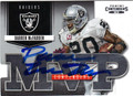 DARREN McFADDEN OAKLAND RAIDERS AUTOGRAPHED FOOTBALL CARD #91913i