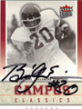 BILLY SIMS AUTOGRAPHED FOOTBALL CARD #92012G