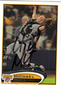 MICHAEL McKENRY PITTSBURGH PIRATES AUTOGRAPHED BASEBALL CARD #92013i