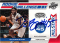 DeJUAN BLAIR AUTOGRAPHED ROOKIE BASKETBALL CARD #92112N