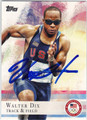 WALTER DIX OLYMPIC TRACK & FIELD AUTOGRAPHED CARD #92113A