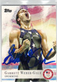 GARRETT WEBER-GALE AUTOGRAPHED OLYMPIC SWIMMING CARD #92113F