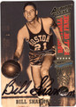 BILL SHARMAN AUTOGRAPHED BASKETBALL CARD #92212E