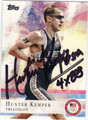 HUNTER KEMPER OLYMPIC TRIATHLON AUTOGRAPHED CARD #92013A
