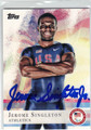 JEROME SINGLETON AUTOGRAPHED OLYMPIC ATHLETICS CARD #92213F