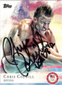 CHRIS COLWILL AUTOGRAPHED OLYMPIC DIVING CARD #92312F