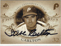 STEVE CARLTON PHILADELPHIA PHILLIES AUTOGRAPHED BASEBALL CARD #92313B