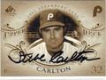STEVE CARLTON PHILADELPHIA PHILLIES AUTOGRAPHED BASEBALL CARD #92313B