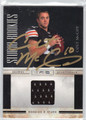 COLT McCOY AUTOGRAPHED & NUMBERED PIECE OF THE GAME JERSEY CARD #92411H