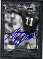 STEVE SPURRIER AUTOGRAPHED FOOTBALL CARD #92412A
