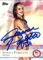 JESSICA PARRATTO AUTOGRAPHED OLYMPIC DIVING CARD #92412H