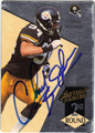 CHAD BROWN AUTOGRAPHED ROOKIE FOOTBALL CARD #92412i