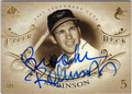 BROOKS ROBINSON BALTIMORE ORIOLES AUTOGRAPHED BASEBALL CARD #92413A