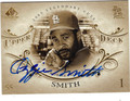 OZZIE SMITH ST LOUIS CARDINALS AUTOGRAPHED BASEBALL CARD #92413B