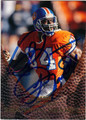 SHANNON SHARPE DENVER BRONCOS AUTOGRAPHED FOOTBALL CARD #92413C