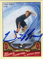 DAMIEN HOBGOOD AUTOGRAPHED SURFING CARD #92511H