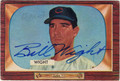 BILL WIGHT CLEVELAND INDIANS AUTOGRAPHED VINTAGE BASEBALL CARD #92413L