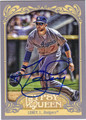 JAMES LONEY AUTOGRAPHED BASEBALL CARD #92512P