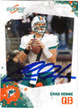 CHAD HENNE AUTOGRAPHED FOOTBALL CARD #92611i