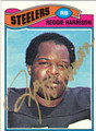 REGGIE HARRISON AUTOGRAPHED VINTAGE FOOTBALL CARD #92611L