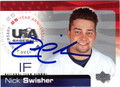 NICK SWISHER AUTOGRAPHED ROOKIE BASEBALL CARD #92612H