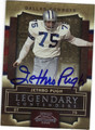 JETHRO PUGH DALLAS COWBOYS AUTOGRAPHED FOOTBALL CARD #92613E
