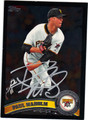 PAUL MAHOLM PITTSBURGH PIRATES AUTOGRAPHED BASEBALL CARD #92613F