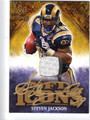 STEVEN JACKSON AUTOGRAPHED & NUMBERED PIECE OF THE GAME CARD #92611K