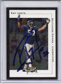 Ray Lewis Autographed Football Card #92710H