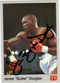 JAMES BUSTER DOUGLAS AUTOGRAPHED BOXING CARD #92712G