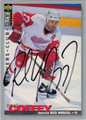 PAUL COFFEY AUTOGRAPHED HOCKEY CARD #92712D