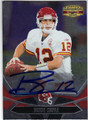 BRODIE CROYLE KANSAS CITY CHIEFS AUTOGRAPHED FOOTBALL CARD #92713K