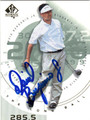 DAVID BERGANIO JR AUTOGRAPHED GOLF CARD #92812N