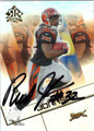 RUDI JOHNSON AUTOGRAPHED FOOTBALL CARD #92812P