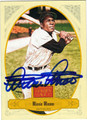 MINNIE MINOSO CHICAGO WHITE SOX AUTOGRAPHED BASEBALL CARD #92813E