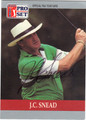 J.C. SNEAD AUTOGRAPHED GOLF CARD #92912A