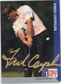 FRED COUPLES AUTOGRAPHED GOLF CARD #92912F
